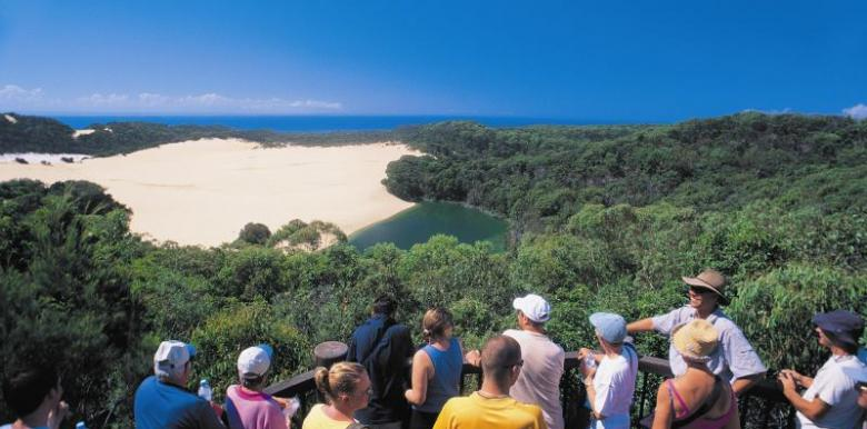 Cool Dingo Tours: 2 day/1 night ex Hervey Bay  returns Hervey Bay (Fraser Island)
