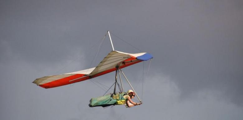 Byron Airwaves: Tandem Hang Gliding