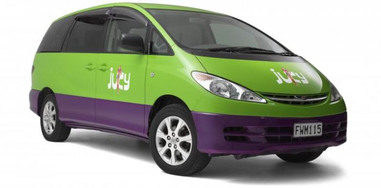 Jucy Car Hire Nz 8 Seater Experiencebackpacking