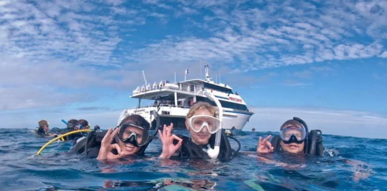 Pro Dive Cairns: 3 day/2 night Advanced & Nitrox Course Package (ADNX)