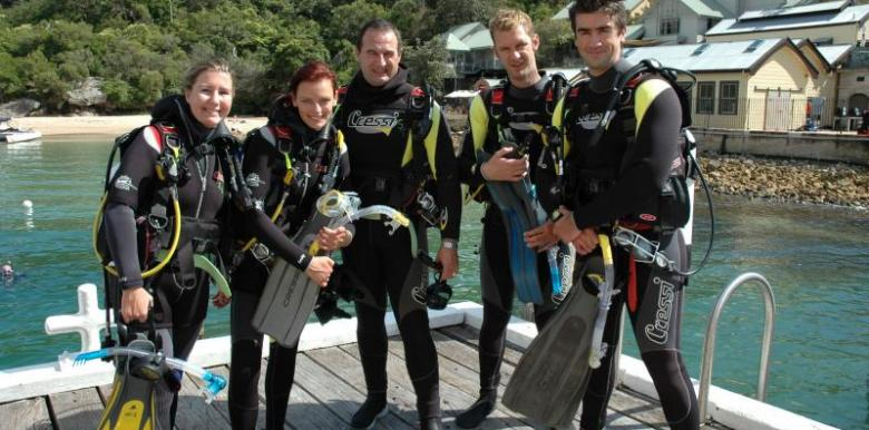 Scuba Diving Sydney: Plunge Diving: PADI Open Water Course