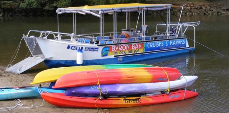 Byron Bay Eco Cruises & Kayaks: Eco Cruise & Kayak