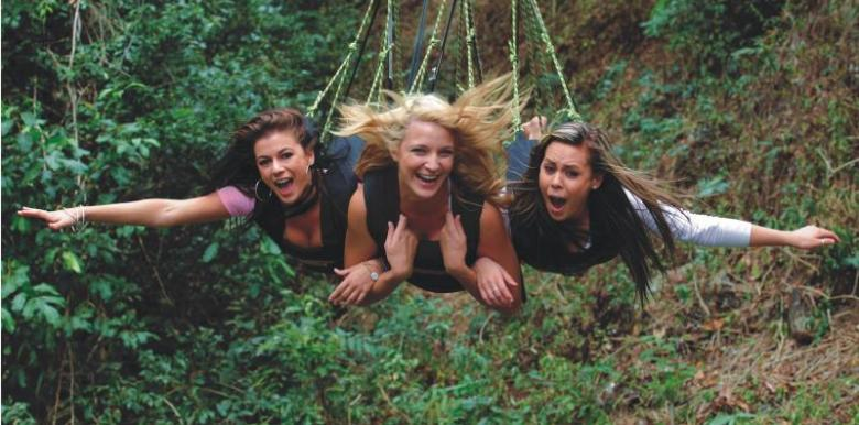 AJ Hackett Cairns: The Biggest Day Out  - Unlimited Bungy, Bungy TShirt, Minjin Jungle Swing + Minjin Photos, Lunch and Certificate AJCBDO