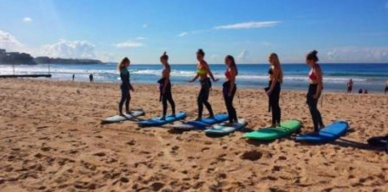 MANLY SURF EXPERIENCE - HALF DAY