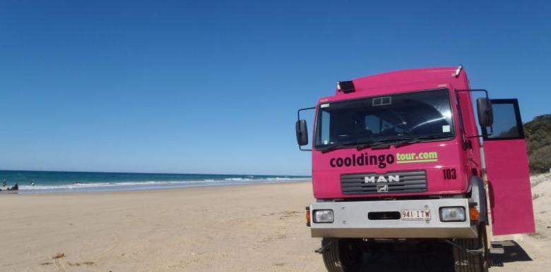Cool Dingo Tours: 2 day/1 night ex Rainbow Beach returns to Hervey Bay ONLY (Fraser Island)